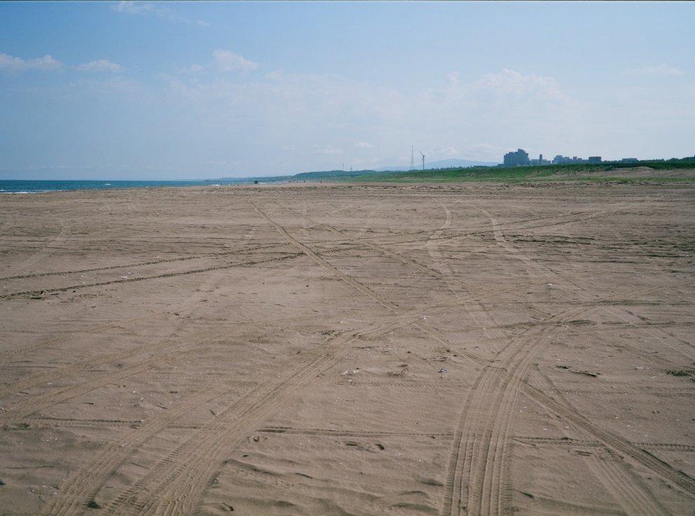 Shooting Medium Format Film at the Beach
