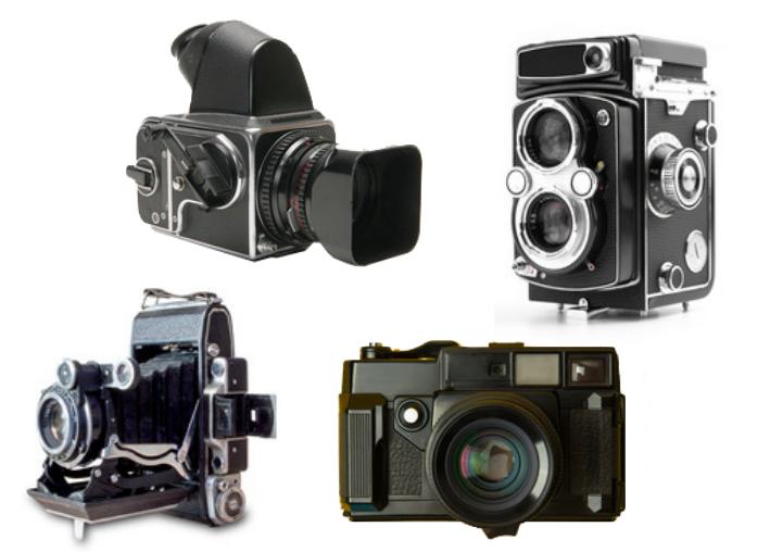仕組み別中判フィルムカメラ