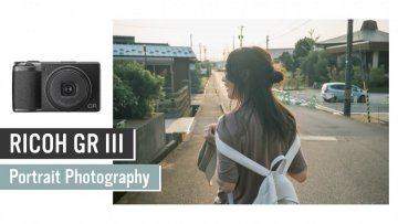 RICOH GR Ⅲ (GR3) Portrait Photography / 夕暮れ時のポートレート