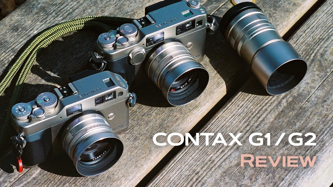 左:CONTAX G1 / 中:CONTAX G2 / 右:Carl Zeiss Sonnar T* 90mm F2.8