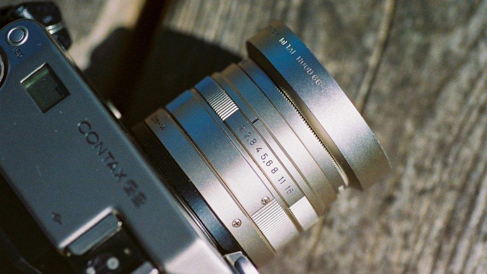 Carl Zeiss Planar 45mm F2 T*