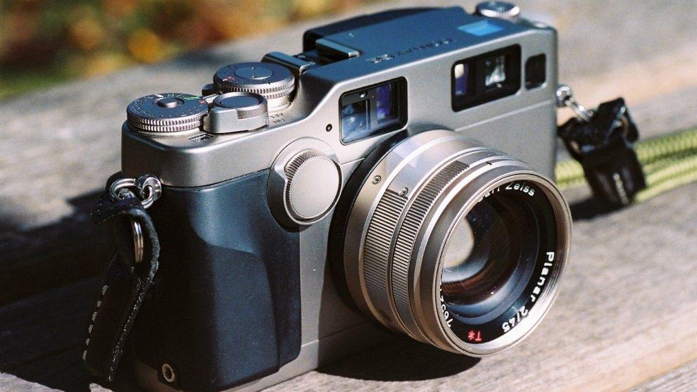 CONTAX G2& Carl Zeiss Planar 45mm F2 T*