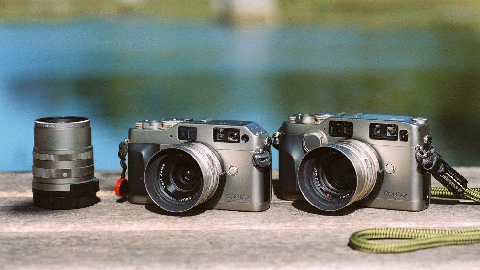 左:CONTAX G1 / 右:CONTAX G2